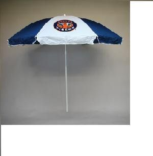 "NCAA Auburn Tigers 72"" Beach / Tailgater Umbrella  Sports Related Merchandise  Sports & Outdoors"