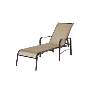 Hampton Bay Altamira Tropical Patio Chaise Lounge D9976 CT