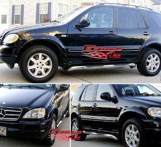 98 05 Mercedes ML320/ML350/ML430/ML500 S/S Side Step Nerf Bars Running Boards Automotive
