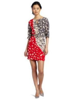 Yoana Baraschi Women's Feather Dot Art Patch Dress, Multi, X Small