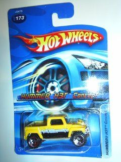 Hot Wheels Yellow HUMMER H3T CONCEPT Die Cast #173 Toys & Games