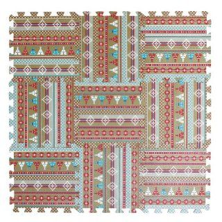 Spice Co. Baby Play Mat, Native  Nursery Rugs  Baby