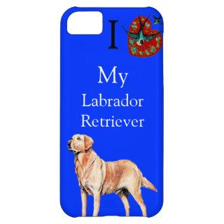 I Love My Labrador Retriever Birds Flying Case iPhone 5C Cases