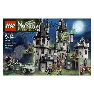Toy / Game Nightmare Lego Monster Fighters 9468 Vampyre Castle   4 Weapons, Hero Car With A Net Launcher Toys & Games