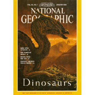 National Geographic   January 1993   Vol. 183, No. 1 Books
