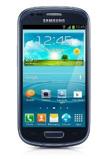 Samsung Galaxy S3 Mini I8200 8GB Value Edition Unlocked GSM Phone   Blue Cell Phones & Accessories