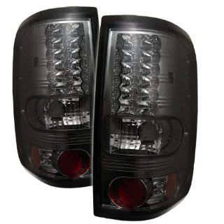 04 05 06 07 08 Ford F150 LED Tail Lights   Smoke (Pair) Automotive