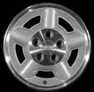 95 03 CHEVY CHEVROLET BLAZER S10 s 10 ALLOY WHEEL RIM 15 INCH SUV, Diameter 15, Width 7 (5 SPOKE, 4X4), 4x4, MACHINED LIP AND LUG AREA. SILVER SPOKES, 1 Piece Only, Remanufactured (1995 95 1996 96 199 Automotive