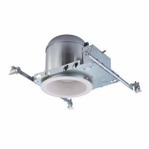 Commercial Electric 6 in. Recessed Lighting Housings and Trims (6 Pack) CER105