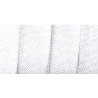 Wrights 117 206 030 Extra Wide Double Fold Bias Tape, White, 3 Yard