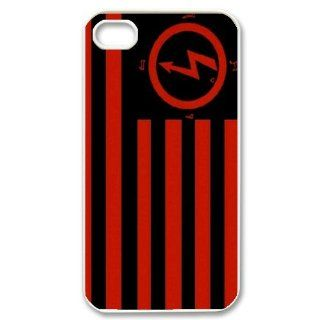 Custom Marilyn Manson Cover Case for iPhone 4 WX7964 Cell Phones & Accessories