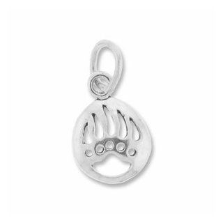 Sterling Silver Bear Claw Charm Jewelry