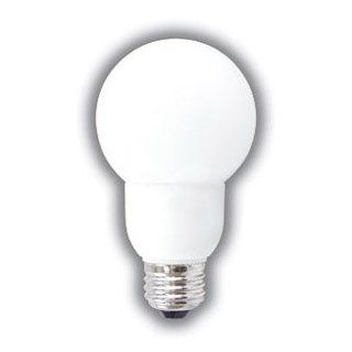 GLOBE SHAPED COMPACT FLUORESCENT LIGHT BULB G20 DECORATIVE CFL 9 WATTS 35K SOFT WHITE COLOR TONE ENERGY STAR RATED 12, 000 HOURS REPLACES INCANDESCENT BULBS   Fluorescent Tubes