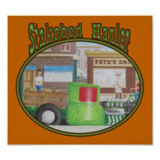 Model T Ford Stakebed Delivery Truck Posters