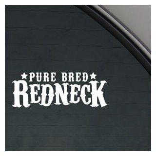 Pure Bred Redneck Decal Car Truck Window Sticker Automotive