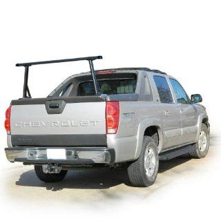 Black 1 bar ladder rack with endcaps for Cadillac Escalade EXT & Chevy Avalanche Automotive