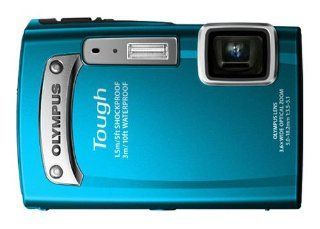 Olympus TG 320 14 MP Tough Series Camera with 3.6x Optical Zoom (Blue)  Point And Shoot Digital Cameras  Camera & Photo