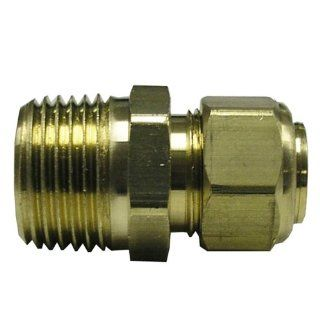 Watts LFA122 Compression Male Adapter, 3/8 Inch OD x 1/4 Inch MIP   Faucet Aerators And Adapters