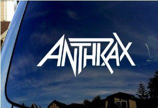 "Anthrax Band Car Window Vinyl Decal 4"" Wide"