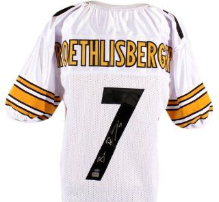 Ben Roethlisberger Autographed Super Bowl XL Jersey   SM Holo   Autographed NFL Jerseys Sports Collectibles
