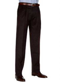 Polo Ralph Lauren Mens Extrafine Virgin Wool Dress Pants Pleated Brown Italy at  Men�s Clothing store