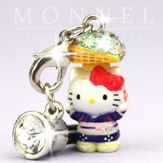 ip322 Cute Hello Kitty 3D Charm Anti Dust Plug Cover for iPhone Cell Phone Cell Phones & Accessories