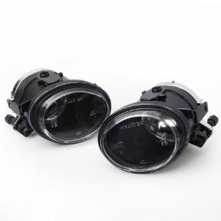 Ships From US For 2001 2005 BMW E46 3 Series 325 330 One Pair Clear Lens Front Bumper Fog Lights With Blub Automotive