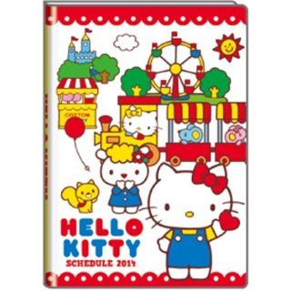 Sanrio Hello Kitty Diary Book for The Year 2014 A6 (Play Land)