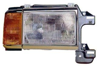 Depo 331 1107R CSU Ford F Series Pickup/Bronco Passenger Side Replacement Headlight Assembly with Corner Light Automotive