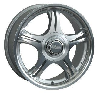 "Primax Wheel 333 Machined Silver Wheel (14x6""/4x114.3mm) Automotive"