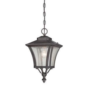Acclaim Lighting Tuscan Collection 1 Light Outdoor Black Coral Light Hanging Lantern 6016BC