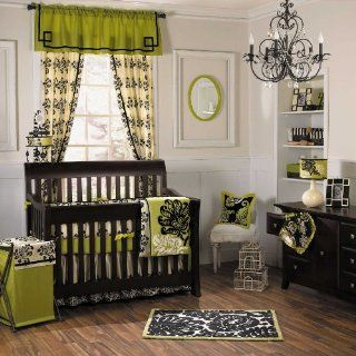 Harlow 5 Piece Baby Crib Bedding Set with Bumper by Cocalo Couture  Baby