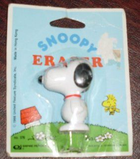 Peanuts Snoopy Figure Eraser Toys & Games
