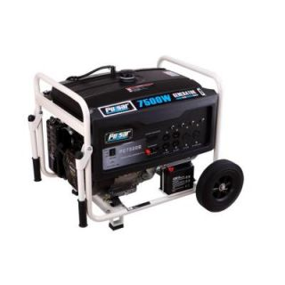 Pulsar Products Inc. 7,500 Watt Dual Fuel (Gas/LPG) Portable Generator with Electric Start PG7500B