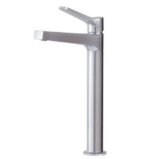 Aquabrass 17020 PC Metro Tall Single Hole Lavatory Faucet Polished Chrome   Touch On Bathroom Sink Faucets