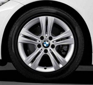 "4 X BMW Genuine LA Wheel Rim 17"" Double Spoke 392 320i 328i 328iX 335i 335iX Hybrid 3 F30 Automotive"
