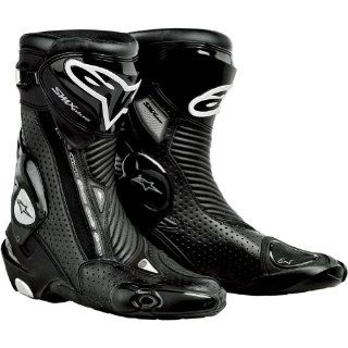 Alpinestars S MX Plus Gore Tex Vented Men's Waterproof Sports Bike Motorcycle Boots   Black / Size 47 Automotive
