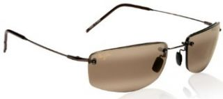 Maui Jim PALI H352 23 sunglasses Metallic Glass Copper with HCL Bronze lenses Clothing