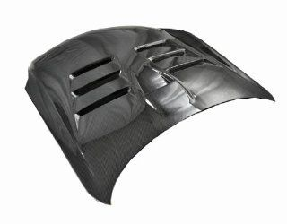 VIS Racing 03ING352DEV 010C   Infiniti G35 2Dr Evo Style Carbon Fiber Hood Automotive