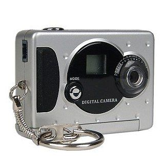 Mini 352x288 USB Keychain Digital Camera (Silver)  Spy Cameras  Camera & Photo