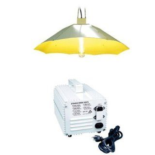 Flora Hydroponics 1000 Watt HPS Parabolic Economy Grow Light System & PH Control Kit Bundle Pack  Plant Growing Lamps  Patio, Lawn & Garden