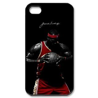 The unique Design of NBA Miami Heat Star LeBron James iphone 4 4s Best Cover Hard Case Cell Phones & Accessories