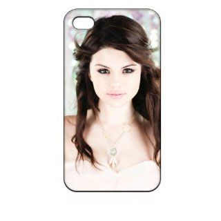 Selena Gomez Hard Case Skin for Iphone 4 4s Iphone4 At&t Sprint Verizon Retail Packing.