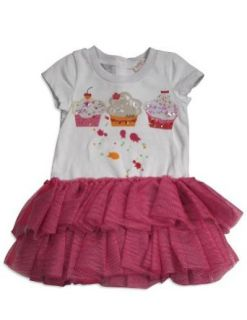 Baby Sara Girls Short Sleeve Cupcake Dress Clothing