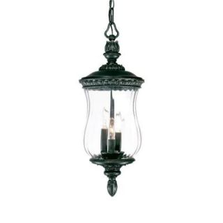 Acclaim Lighting Bel Air Collection Hanging Lantern 3 Light Outdoor Stone Light Fixture DISCONTINUED 1186ST