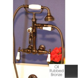 Randolph Morris High Spout Wall Mount Tub Faucet RM379 ORB   Tub And Shower Faucets