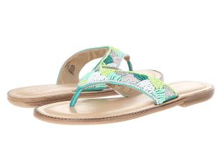 Kenneth Cole Reaction Not Too Slabby Womens Sandals (Green)