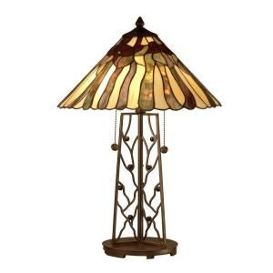 Dale Tiffany 2 Light Tiffany Table Lamp TT10597