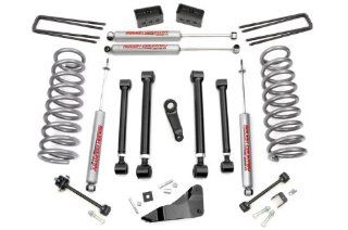 Rough Country 394.24   5 inch X Series Suspension Lift Kit with Premium N2.0 Series Shocks Automotive