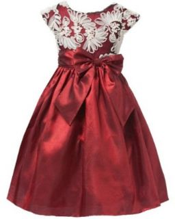 Sweet Kids Girls Fan Embroidered Mesh Taffeta Flower Girl Party Dress Special Occasion Dresses Clothing